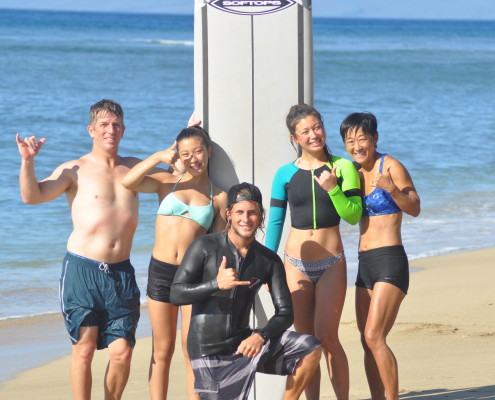 Learn to surf with Maui Surf Lessons!