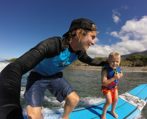 Maui Beginners Surf Lessons