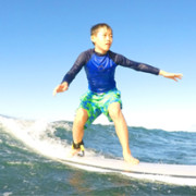 Kids Surfing West Side