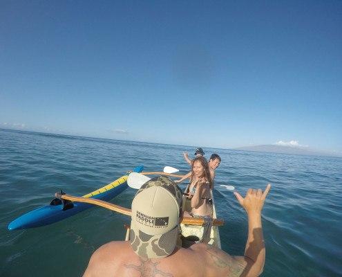 Ukumehame Canoe Surf Shaka