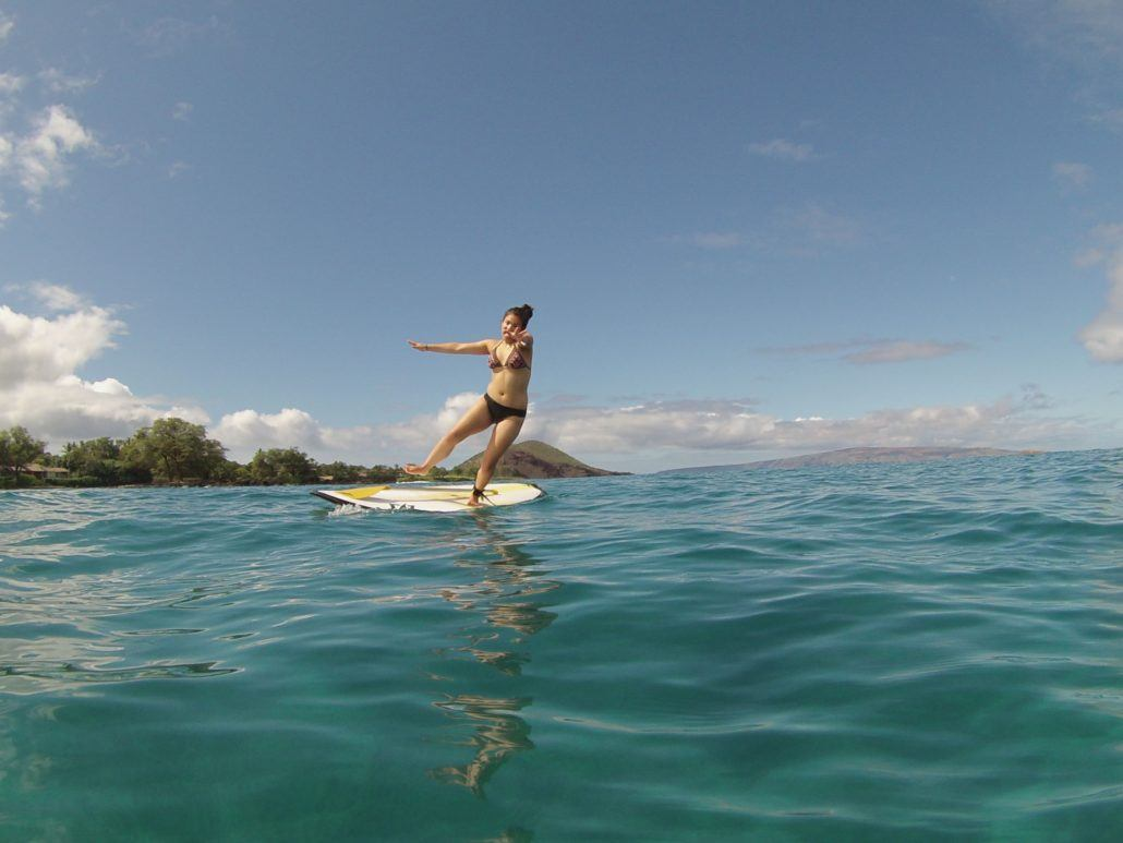 Maui SUP Lesson in Makena