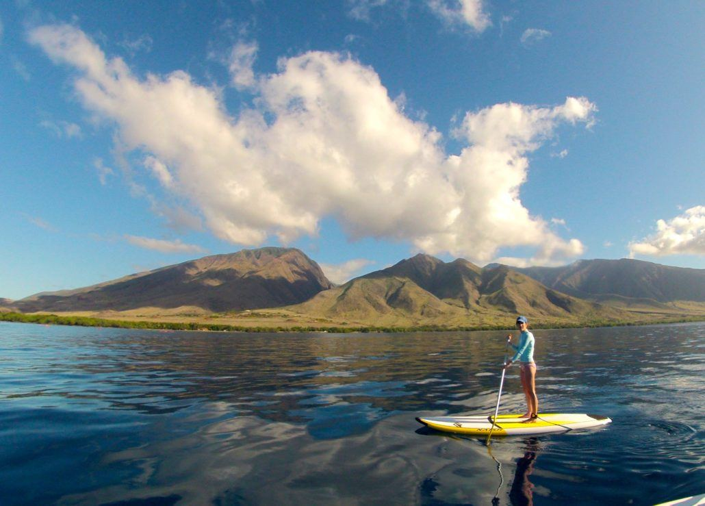 Paddle Boarding in Lahaina